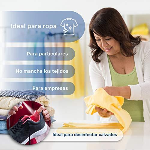 Spray aerosol desinfectante textil para limpieza de ropa multiusos multidesinfeccion ideal para superficies pequeñas limpiador en espray de todo tipo de objetos zapatos, llaves, moviles