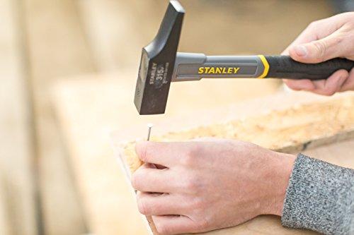 Stanley STHT0-54159 Martillo de Carpintero, Gris, 315g-25mm