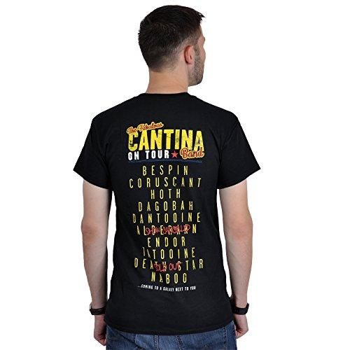 Star Wars - Camiseta Cantina Band - Live at Mos Eisley - Negra - L