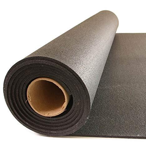 Suelo gimnasio Caucho Sport 3mm negro por m2