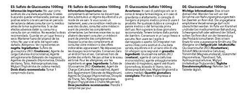 Sulfato de Glucosamina 1000mg - ¡Bote para 4 meses! - 120 Comprimidos - SimplySupplements