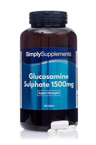 Sulfato de Glucosamina 1500mg - ¡Bote para 1 año! - 360 Comprimidos - SimplySupplements