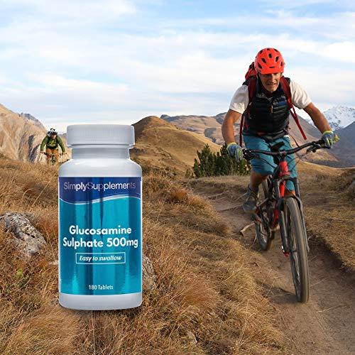 Sulfato de Glucosamina 500mg - ¡Bote para 6 meses! - 360 Comprimidos - SimplySupplements