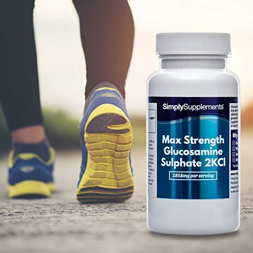 Sulfato de Glucosamina Máxima Potencia - ¡Bote para 6 meses! - 360 Comprimidos - SimplySupplements