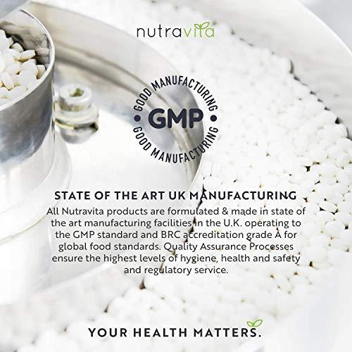 Sulfato de glucosamina y condroitina –180 cápsulas de elevada eficacia–contribuye al mantenimiento del sistema inmunitario–con vitamina C, cúrcuma, jengibre y rosa mosqueta–producido por Nutravita
