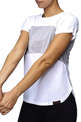Sundried Camisa para Mujeres para Entrenamiento y Running Ropa de Gimnasio para Mujeres (Small)