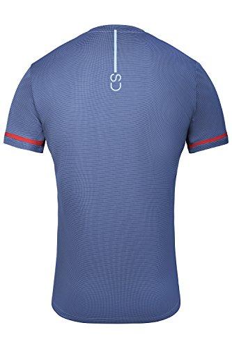 Sundried Camiseta de Entrenamiento para Hombres Ropa para Entrenamiento Deportivo (Large)