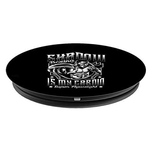 Super Flyweight Shadow Boxing Cardio Boxer PopSockets Agarre y Soporte para Teléfonos y Tabletas