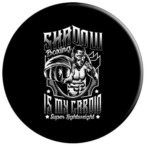 Súper Ligero Boxeo de Sombra Cardio Boxer PopSockets Agarre y Soporte para Teléfonos y Tabletas