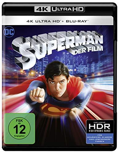 Superman: The Movie (1978)  (4K Ultra HD) (+ Blu-ray 2D) [Alemania] [Blu-ray]