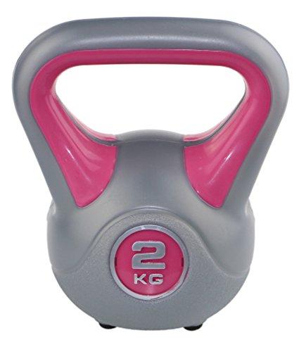 Sveltus: mancuerna Rusa para Fitness, 2 kg, Color Rosa