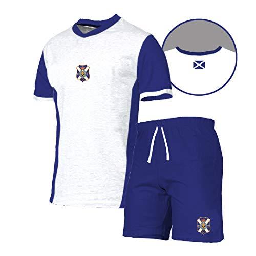 Tenerife Pijtnr Pijama Corto, Unisex Adulto, Blanco, XL