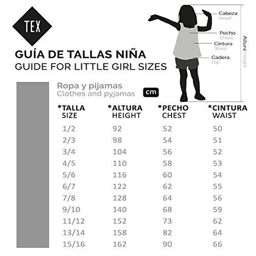 TEX - Sudadera de Deporte para Niña, Plateado Claro, 7-8 años