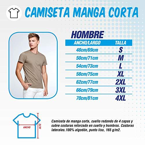 The Fan Tee Camiseta de Hombre Crossfit Deporte Gimnasio Gym Pesas 015 L