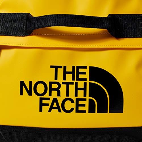 The North Face Base Camp Duffel Bolsa de deporte, Unisex Adulto, Dorado (Summit Gold/TNF Black), S
