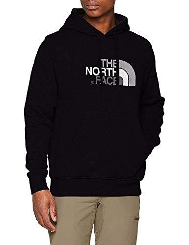 The North Face Sudadera Drew Peak, Hombre, TNF Black/TNF White, XS