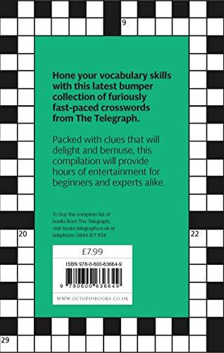 The Telegraph Big Book of Quick Crosswords 6: A bumper collection of over 200 quick crosswords (The Telegraph Puzzle Books)