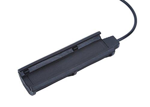 【Tienda oficial de element airsoft】Night-Evolution Tactical Double Remote Control (1Plug) para M300 / M600 / M951 Scout Light NE07014-BK