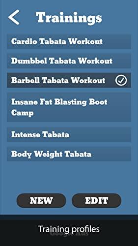 TimerFit: Temporizador para Tabata, CrossFit, boxeo, artes marciales y cualquier entrenamiento de intervalos