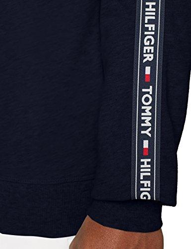Tommy Hilfiger Track Top LS HWK Sudadera, Azul (Navy Blazer 416), Medium para Hombre
