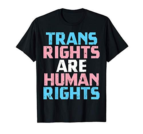 Trans Rights Are Human Rights Transgender Pride LGBT Gift Camiseta