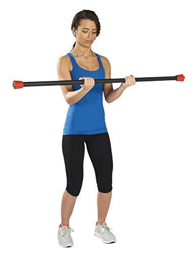 Trendy Sport Pesos Bodybar - Barra de pesas, Trendy Sport_5010, 10 kg - negro