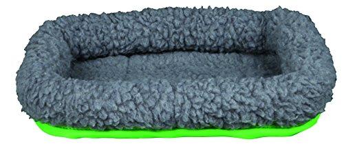TRIXIE Cama Suave, Cobayas, 30 x 22 cm, Gris-Verde, Pequeños Mamíferos