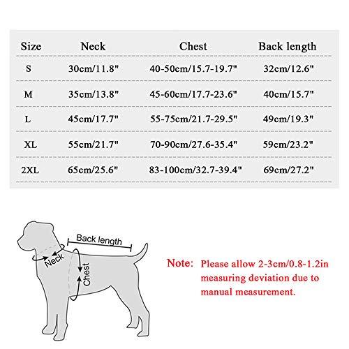 TVMALL Chaleco de enfriamiento para Perros Chaqueta para Perros de Malla Transpirable Verano Abrigo de Perro cómodo y Ajustable con Tira Reflectante Adecuada para Perros medianos y pequeños