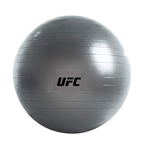 UFC Fitball, Unisex Adulto, Plata, Silver / 55cm