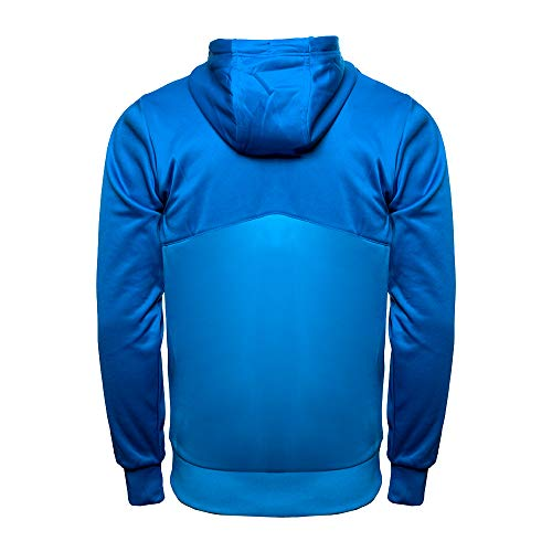 UMBRO Core Training Hooded FZ Jacket Hombre, Azul, XL