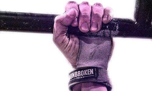 Unbroken Grips 2.0 Calleras Agarres de Mano Protector de Manos Grips Cuero Atletas Deportes Gimnasio Ejercicio Entrenamiento Fitness Salud Unisex Cómodo Grips 2.0