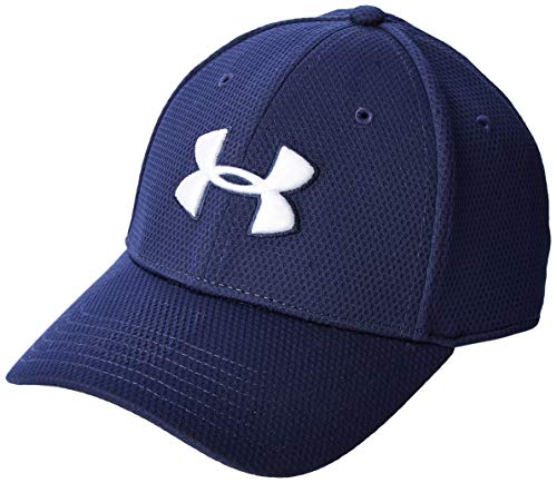 Under Armour Blitzing II - Gorra, Hombre, Azul (Midnight Navy/White 417), L/XL