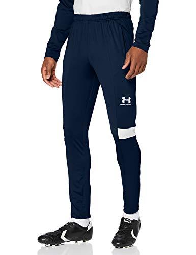Under Armour Challenger III Training Pant, pantalones de chándal para hombre, pantalones largos muy ligeros hombre, Azul (Academy/Halo Gray/Halo Gray (408)), M