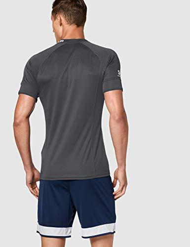 Under Armour Challenger III Training Top Transpirable para Hacer Deporte, Camiseta para Hombre, Negro, LG