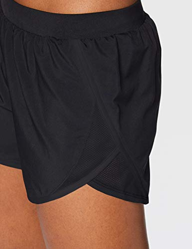 Under Armour Fly by 2.0 Short Deportivos, Shorts De Mujer, Negro, M