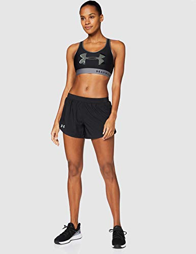 Under Armour Fly by 2.0 Short Deportivos, Shorts De Mujer, Negro, S