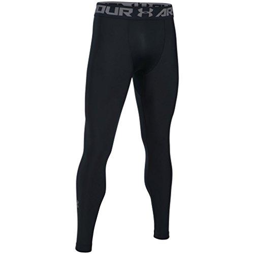 Under Armour Heatgear 2.0 Leggings, Hombre, Negro, XL