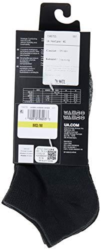 Under Armour Heatgear Calcetines, Unisex adulto, Negro, XL