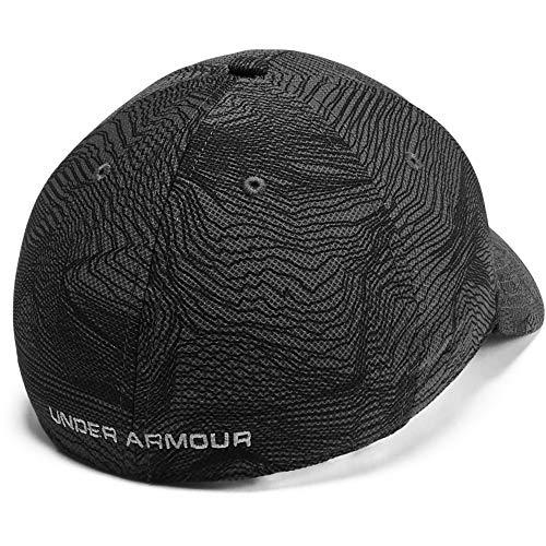 Under Armour Men's Printed Blitzing 3.0 Gorra, Hombre, Gris, XL/XXL