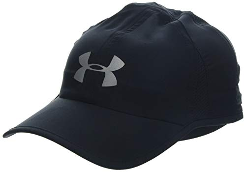 Under Armour Men's Shadow Cap 4.0 Gorra, Hombre, Negro (Black/Black/Reflective 001), Talla única