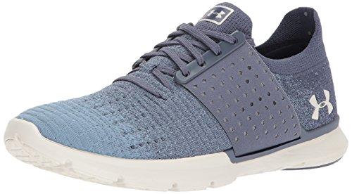 Under Armour Men's Speedform Slingwrap Fade Sneaker, Apollo Gray (103)/Solder, 10
