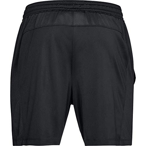 Under Armour MK1 Shorts Pantalón Corto, Hombre, Negro (Black/Black-001), XL