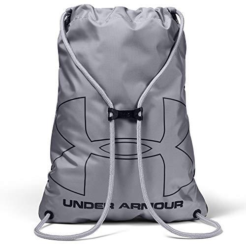 Under Armour Ozsee Sackpack Bolsa De Equipaje, Unisex, Negro, OSFA