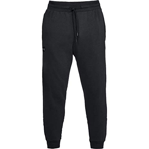 Under Armour Rival Fleece Jogger Pantalones, Hombre, Negro (Black/Black 001), L