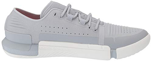 Under Armour Tribase Reign, Zapatillas Deportivas para Interior para Hombre, Gris (Mod Gray/White/White (102) 102), 41 EU