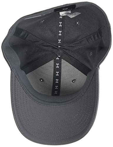 Under Armour UA Boy's Blitzing 3.0 Cap, Gorra niño, Gris (Graphite/Steel/Black (040)), XS