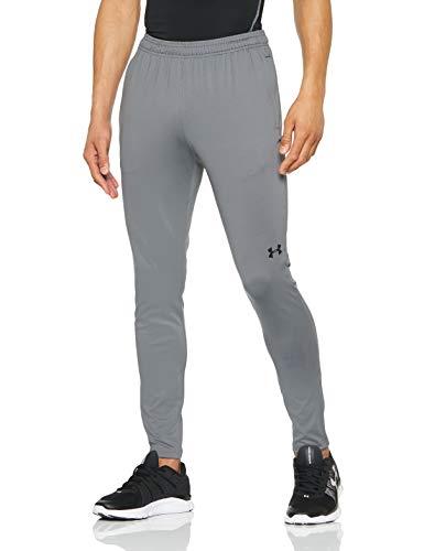Under Armour UA Challenger II Pantalones para Hombre, Ajustado pantalón de chándal, Pantalones Largos ultraligeros y de Secado rápido, Graphite/Black (040), LG