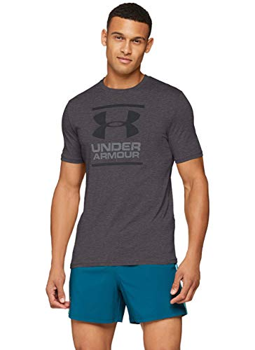 Under Armour UA GL Foundation Short Sleeve tee Camiseta, Hombre, Negro, XL