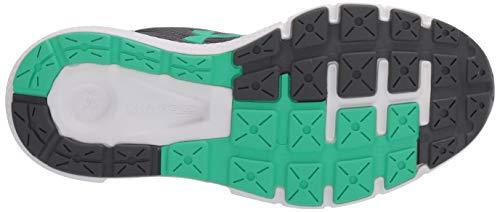 Under Armour UA GS Charged Rogue 2, Zapatillas para Correr, Calzado Deportivo de Calidad Unisex Adulto, Gris (Pitch Gray/Versa Blue/Vapor Green, 39 EU