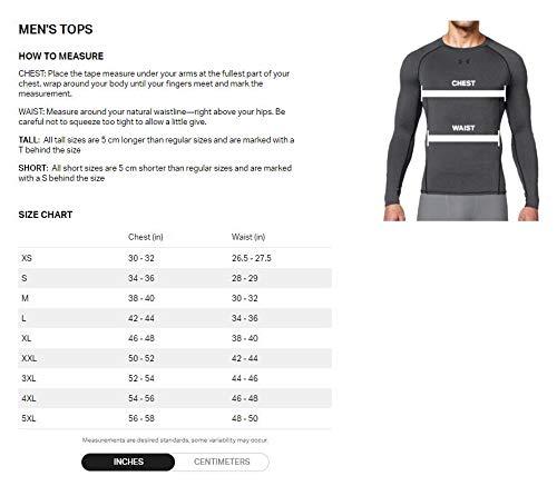 Under Armour UA Heatgear Short Sleeve Camiseta, Hombre, Negro (Black/Steel 001), L